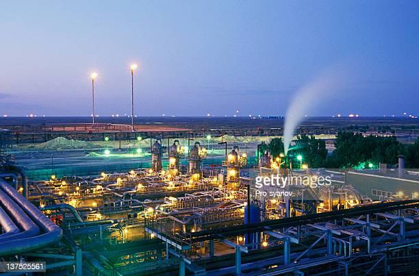 石油ガス産業ます。