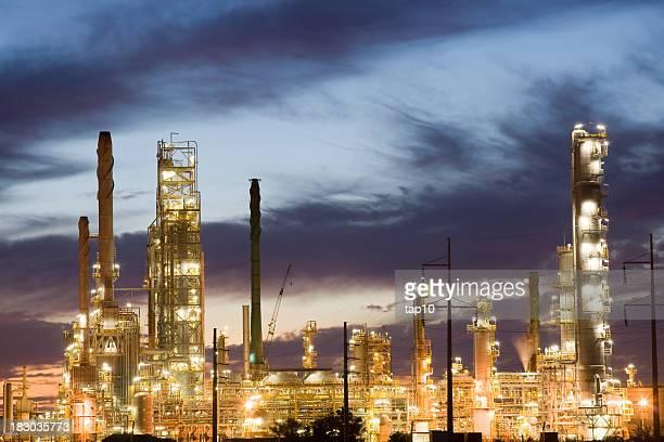 Refinaria de petróleo e de gás
