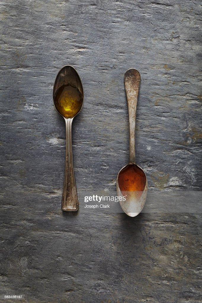 Oil and Vinegar : Stock Photo