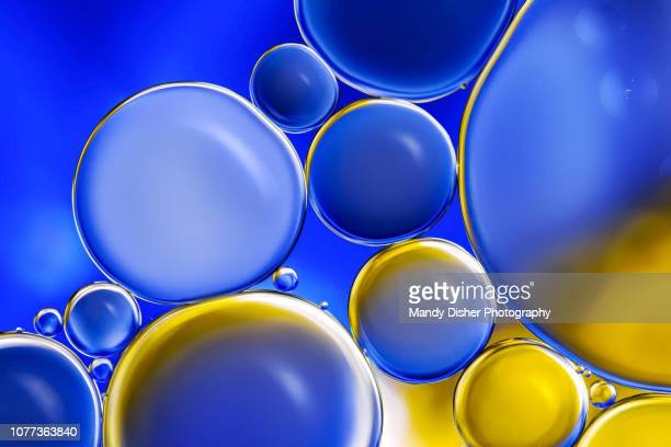 oil and water abstract 24 - mandy muse stock pictures, royalty-free photos & images