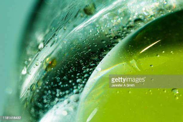 oil and water - macro stock pictures, royalty-free photos & images