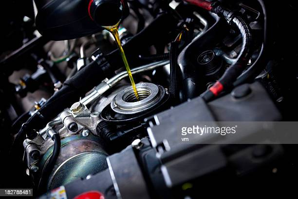 oil change - oil stock pictures, royalty-free photos & images
