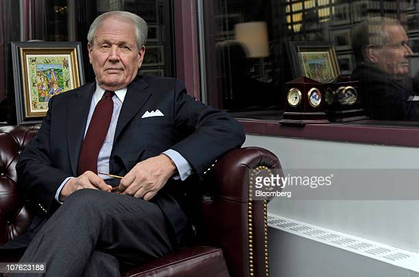 Oil consultant James H 'Jim' Giffen poses for a photo in his office in New York US on Wednesday Dec 15 2010 Jim Giffen an oil consultant and merchant...