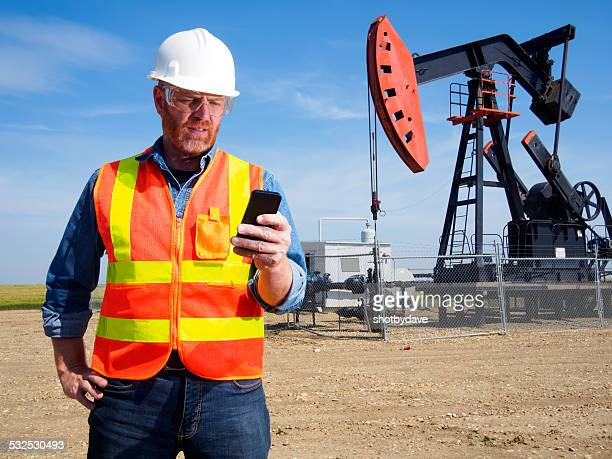 Oil Engineer and Smart Phone Technology