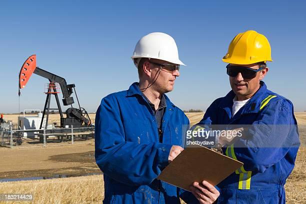 Oil Engineers on Site