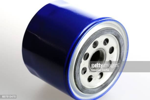 Oil Filter used to clean the lubricant in a combustion engine