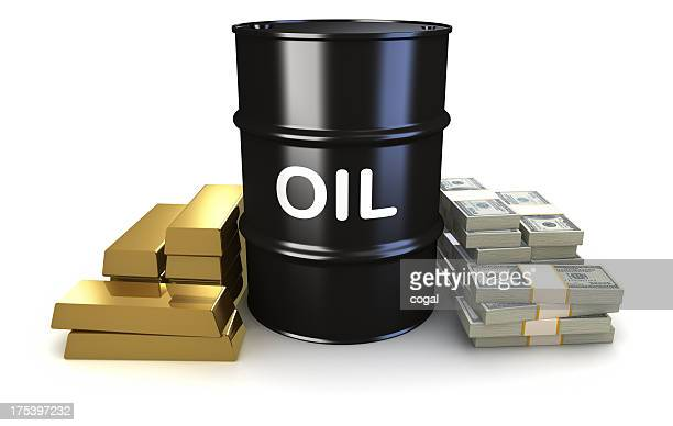 Oil, gold, and money