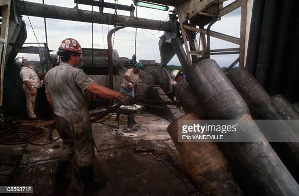 Oil in region of Guyana in Venezuela in August1991