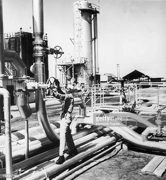 Oil Industry Dahran Saudi Arabia 40'S