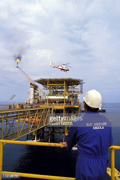 Oil industry in Angola elf in Angola in September 1987