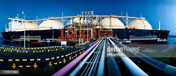 Oil Industry, LNG Tanker