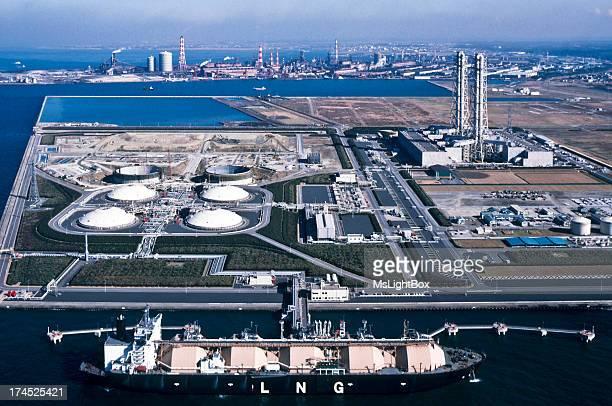 Oil Industry, LNG tanker.