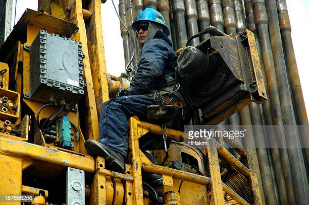 Oil industry - top drive service