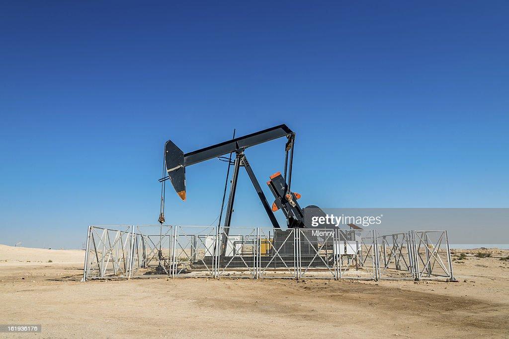 Industrie pétrolière et pompe : Photo