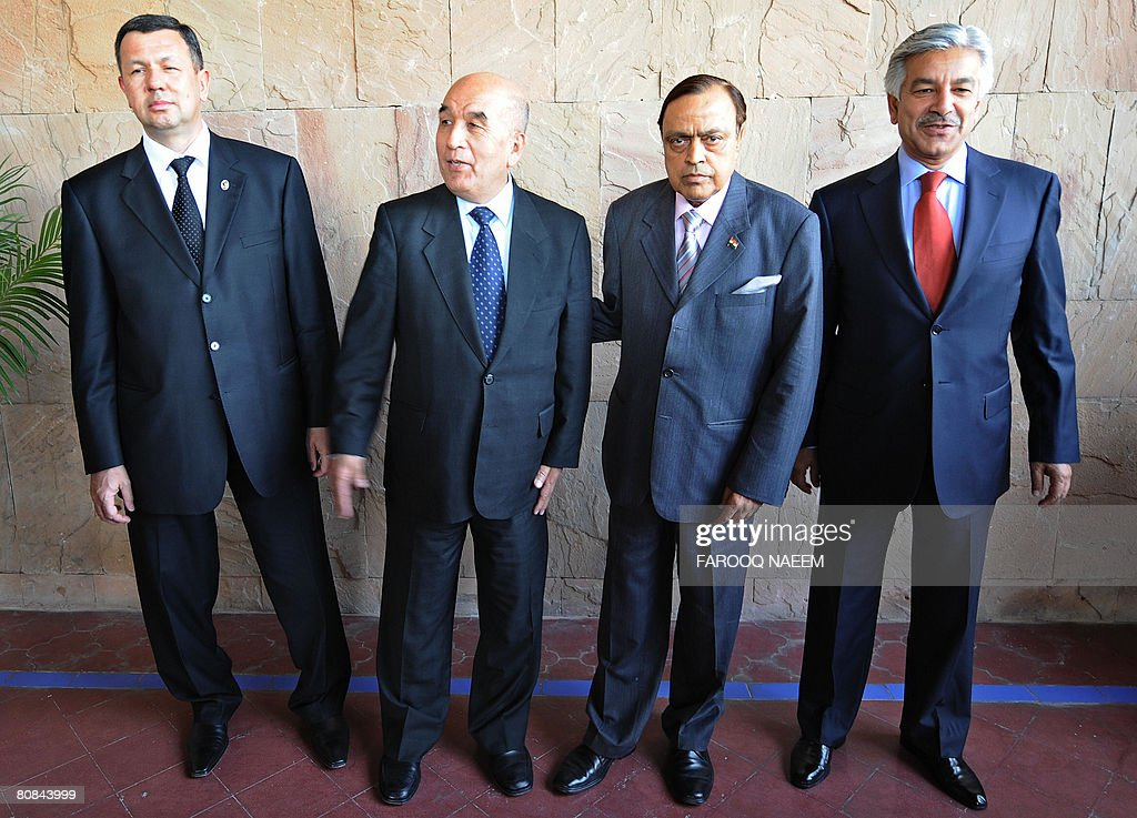 (From R to L) Oil Ministers of Pakistan : News Photo