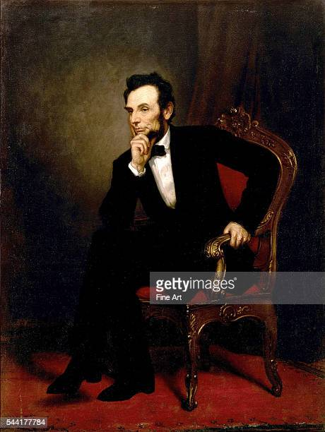 1869 oil on canvas 1873 x 1413 cm Located in the State Dining Room White House Washington DC USA The portrait was painted in Paris and sent to...