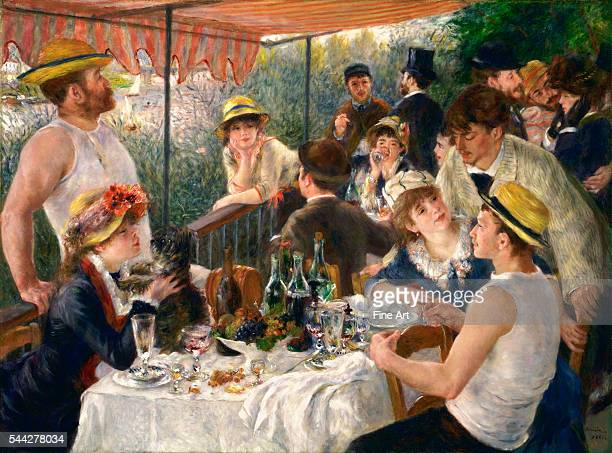 Phillips Collection Washington DC In the mid1870s PierreAuguste Renoir frequented the Maison Fournaise a riverside retreat at Chatou on the Seine...