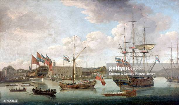 Oil painting by John Cleveley The Elder John Cleveley was a celebrated British marine artist who produced largescale paintings of naval and merchant...