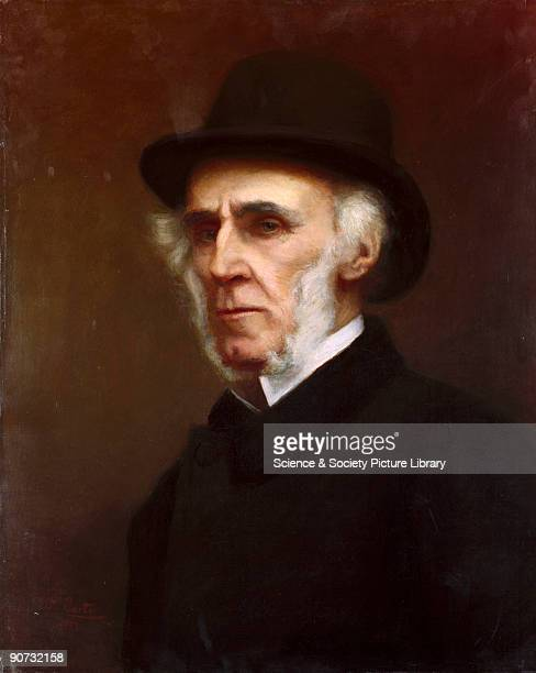 Oil painting by William Carter made in 1900. Sir Richard Moon was Chairman of the London and North Western Railway from 1861-1891 and founded the...