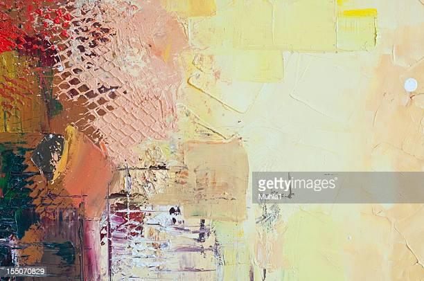 ölgemälde führen zu einer fragmentierung - malerleinwand stock-fotos und bilder