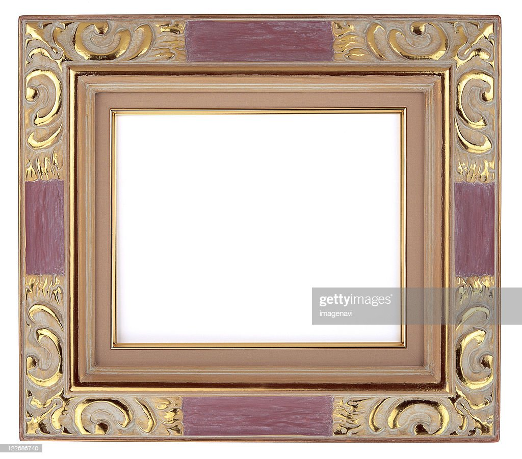 Oil Painting Frame Stock Photo   Getty Images