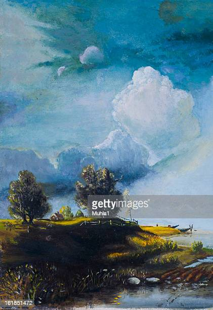 oil painting - oil painting stock pictures, royalty-free photos & images