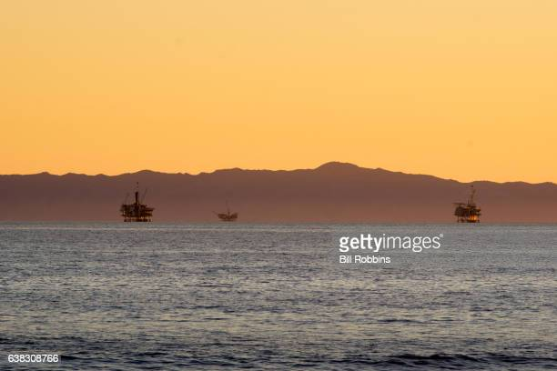 Oil Platform Santa Barbara Channel
