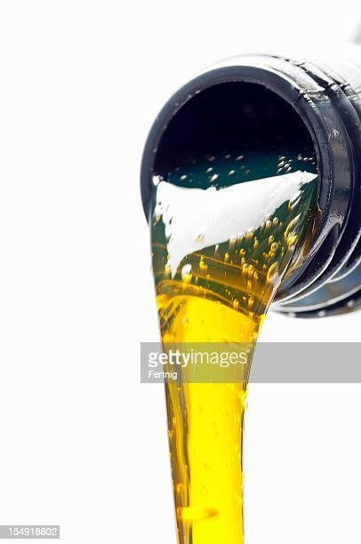 Verser l'huile