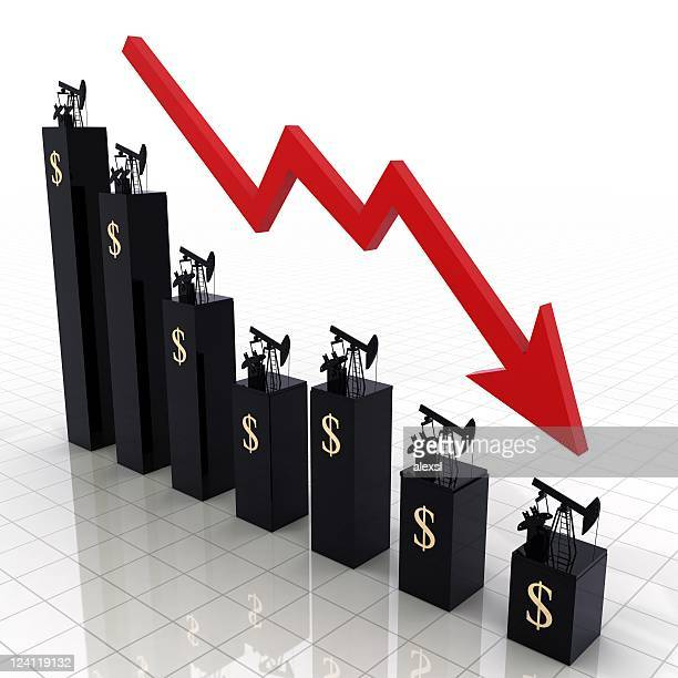 oil prices chart - oil prices stock pictures, royalty-free photos & images