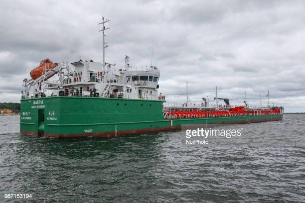 Oil Products Tanker BAVLY is seen in Gdynia, Poland on 29 June 2018