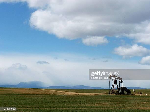 Oil pump near Greeley, Colorado