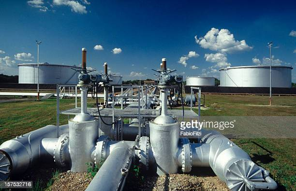 oil pump station