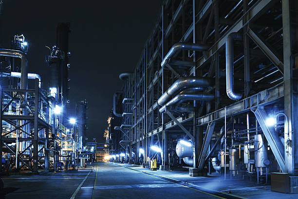 Oil Refinery, Chemical & Petrochemical Plant Wall Art