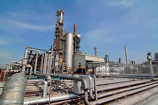 Oil refinery, Hamburg, Germany