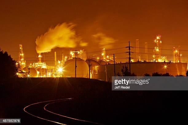 Oil refinery is photographed for New York Times Magazine on August 31 2014 in Louisiana