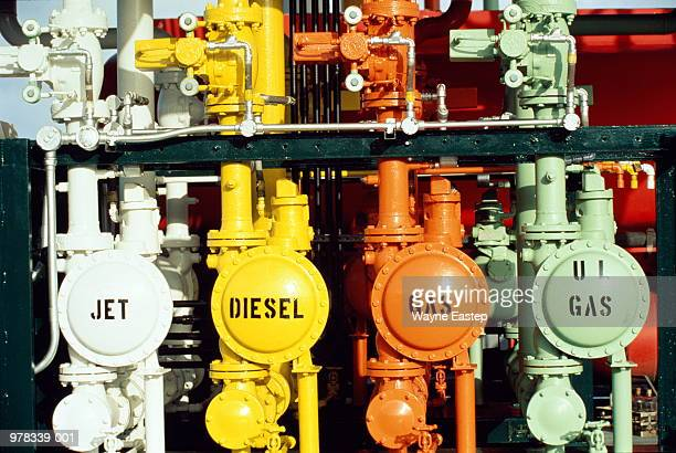 Oil refinery loading rack terminal