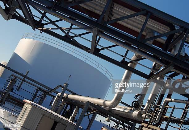 Ölraffinerie-tank-Top