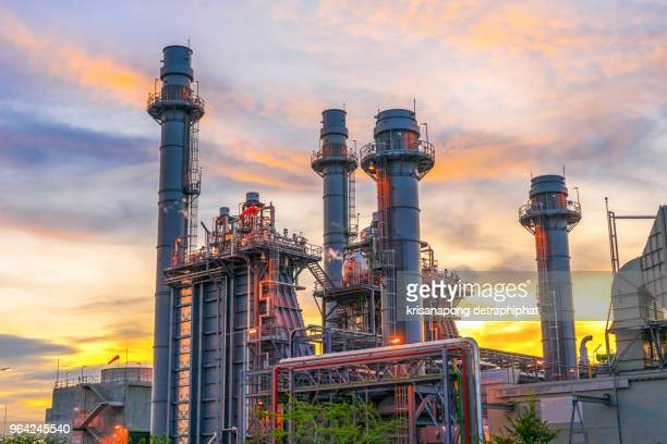 oil refinery,power plant - oil refinery stock pictures, royalty-free photos & images