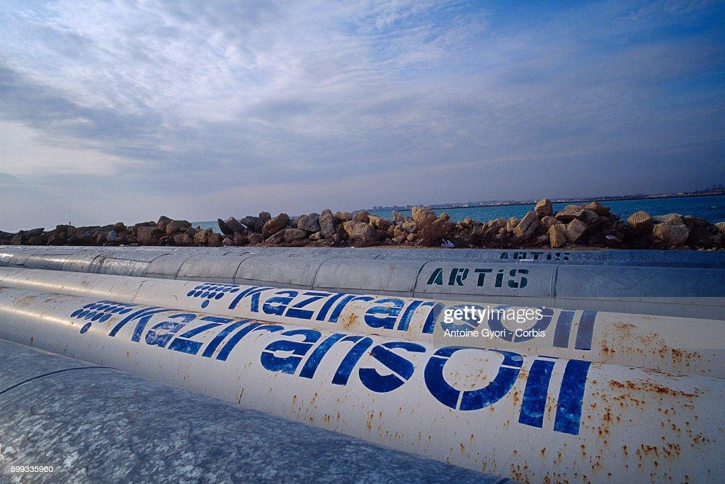 Kazakhstan - Industry - Oil Transit : News Photo