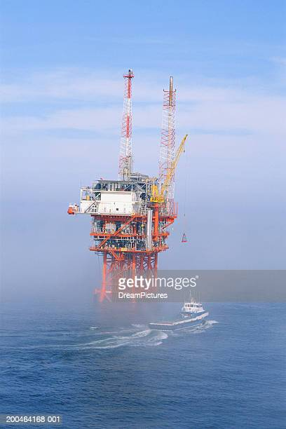 Oil rig, gulf of Mexico