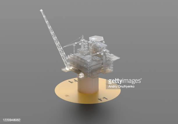 oil rig - gas stock pictures, royalty-free photos & images