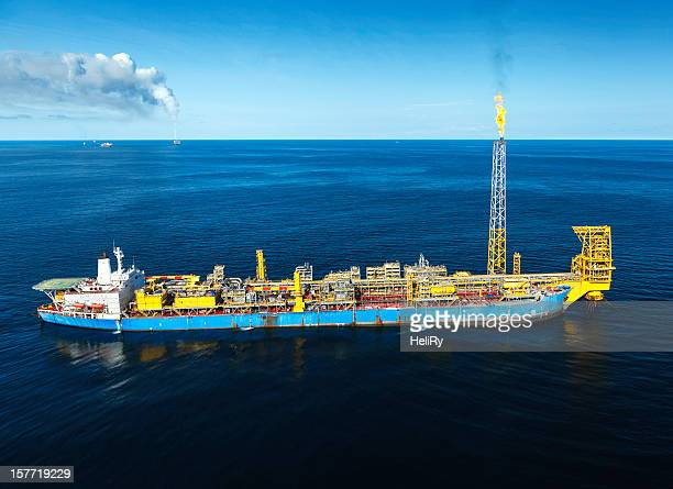 FPSO Plateforme pétrolière offshore