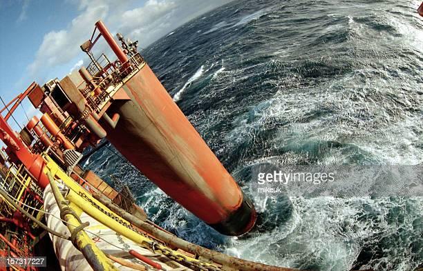 Plateforme de plate-forme pétrolière sur oeil