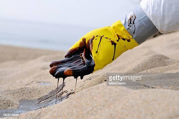 石油流出:悲劇