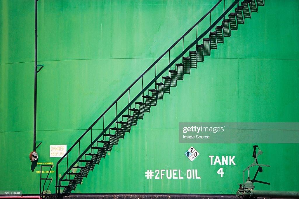 Oil tank : Stock Photo