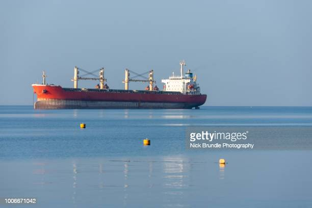 oil tanker, eilat, israel - sailing ship stock pictures, royalty-free photos & images