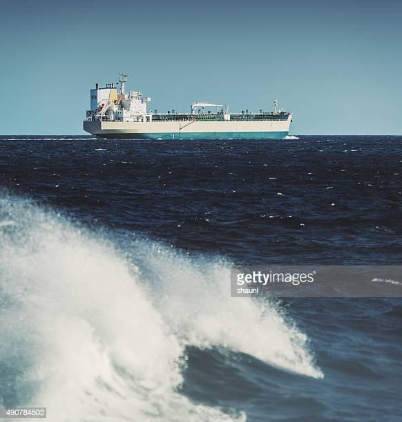 Oil Tanker in the Atlantic