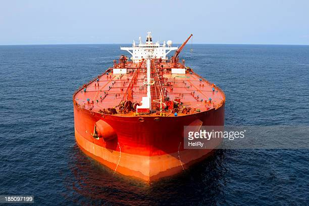 oil tanker - slave ship stock photos and pictures