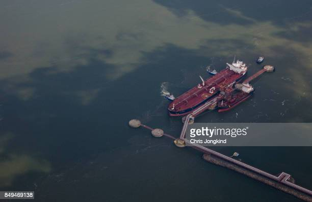 Oil Tankers at Dock