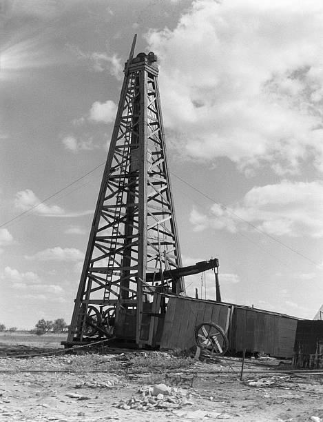 Oil Well And Derrick Wall Art